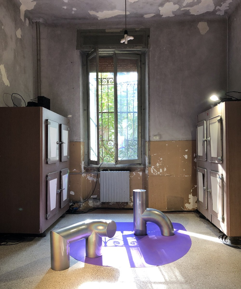 Office of Common Interest x Etage Projects @ Alcova, Milan 2021 - Courtesy of Alcova.