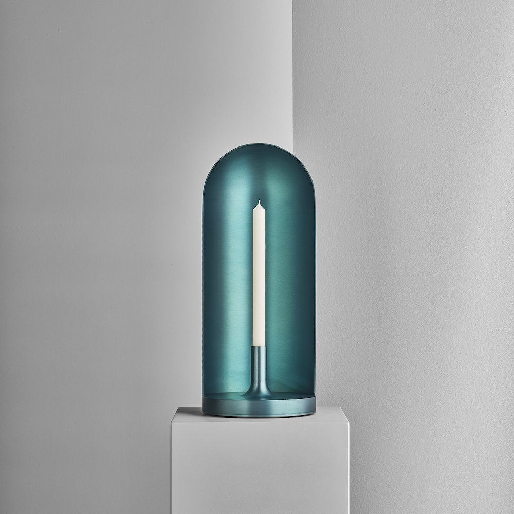 A FLAME FOR RESEARCH - Edicola candleholder by Luca Nichetto - Photo by Matteo Imbriani.
