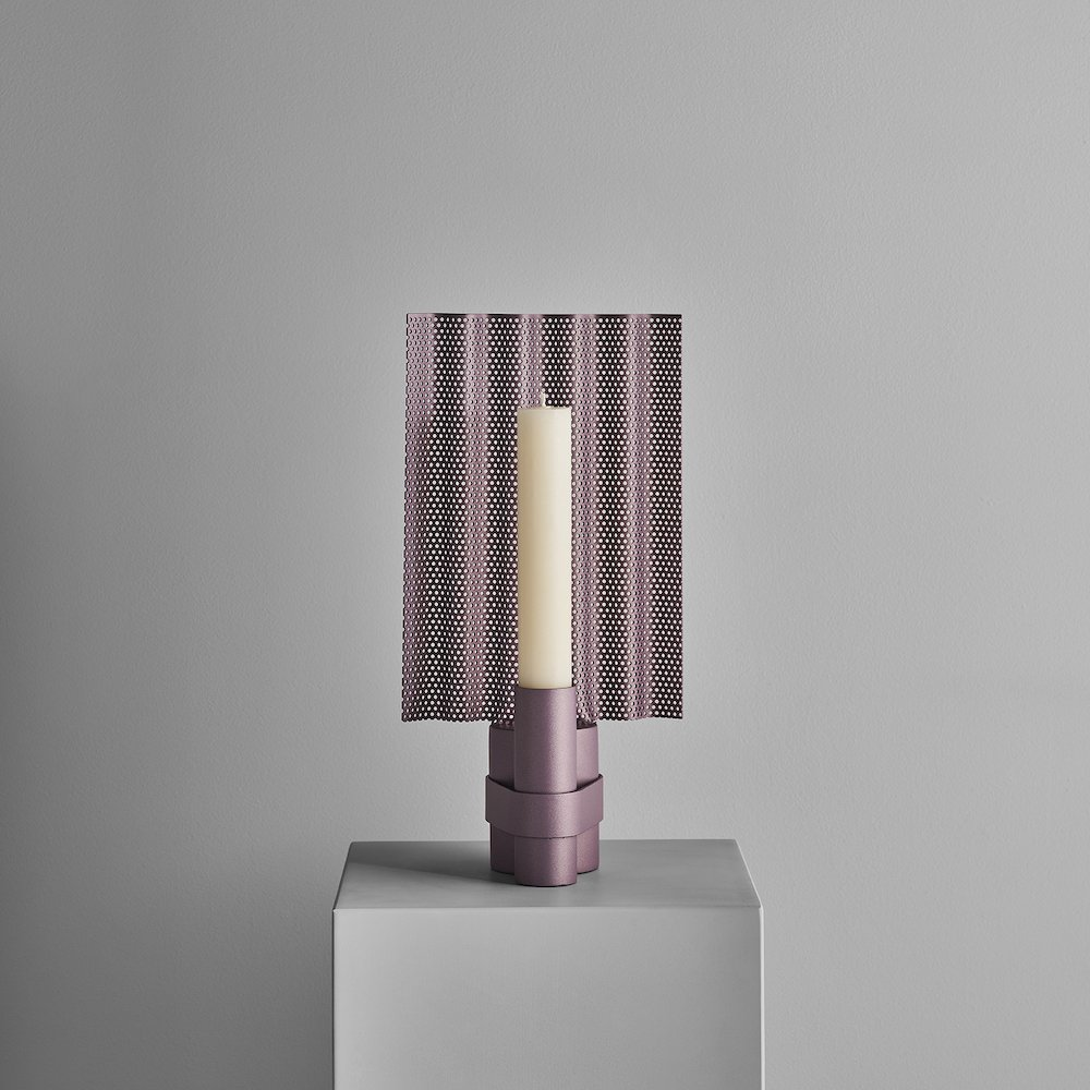 A FLAME FOR RESEARCH - Hope candleholder by Patricia Urquiola - Photo by Matteo Imbriani.