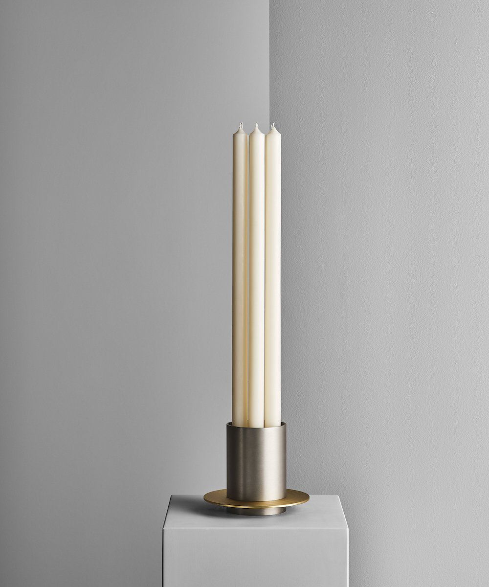 A FLAME FOR RESEARCH - Sant'Agata candleholder by Matteo Thun - Photo by Matteo Imbriani.