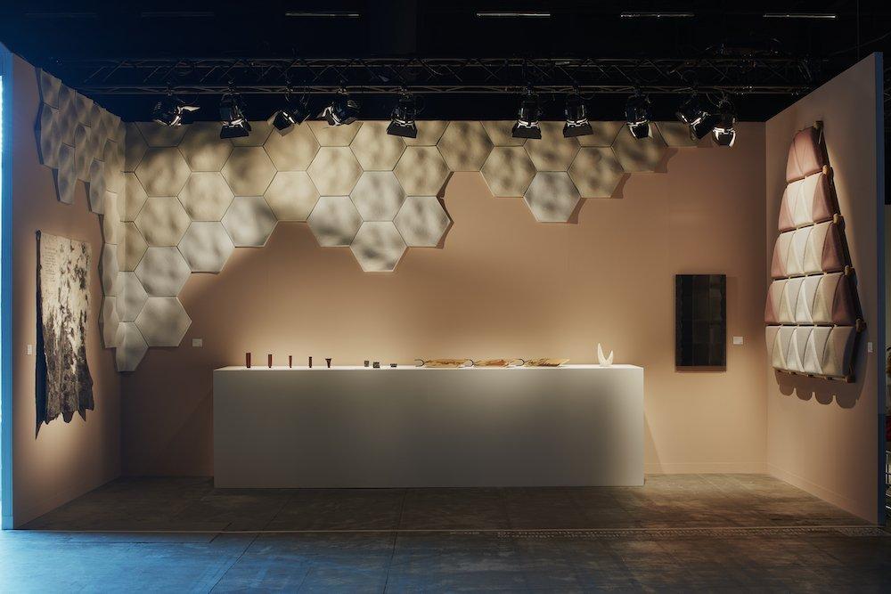 Dr. Hauschka presents Symbiotic Habitat by dieDAS at Design Miami Basel 2021 - Photo by James Harris.