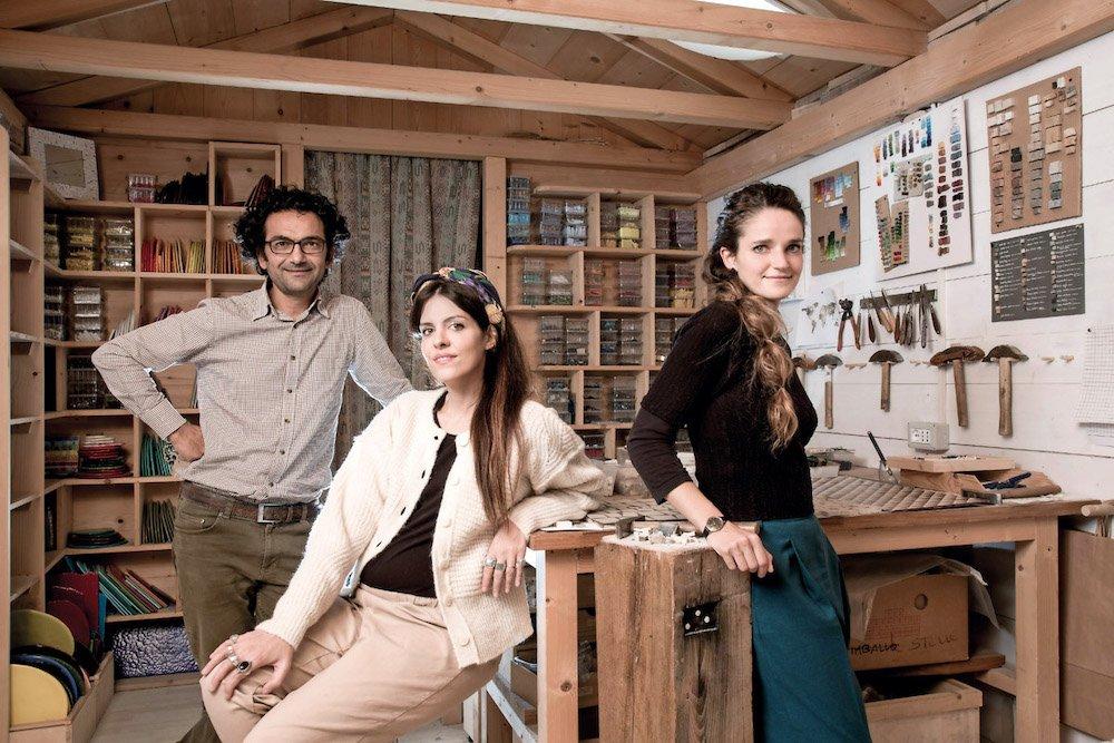 Elena Salmistraro with Carraro Chabarik x Doppia Firma 2021 - Photo by Laila Pozzo.