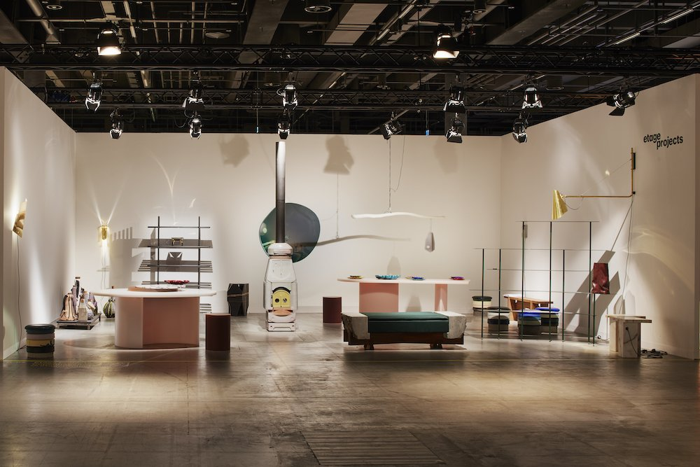 Etage Projects at Design Miami Basel 2021 - Photo by James Harris.