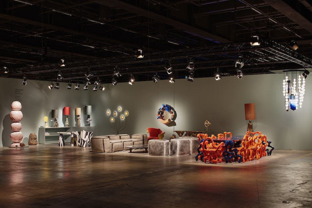 Friedman Benda at Design Miami Basel 2021 - Photo by James Harris.