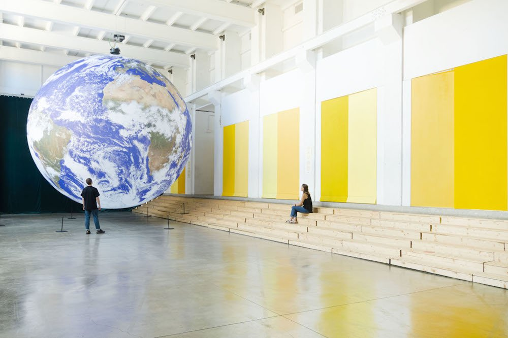 GAIA installation by Luke Jerram - Courtesy of BASE Milano.
