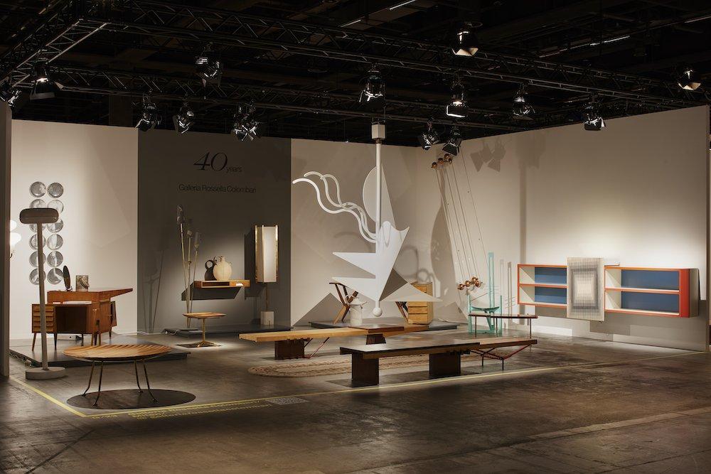Galleria Rosella Colombari at Design Miami 2021 - Photo by James Harris