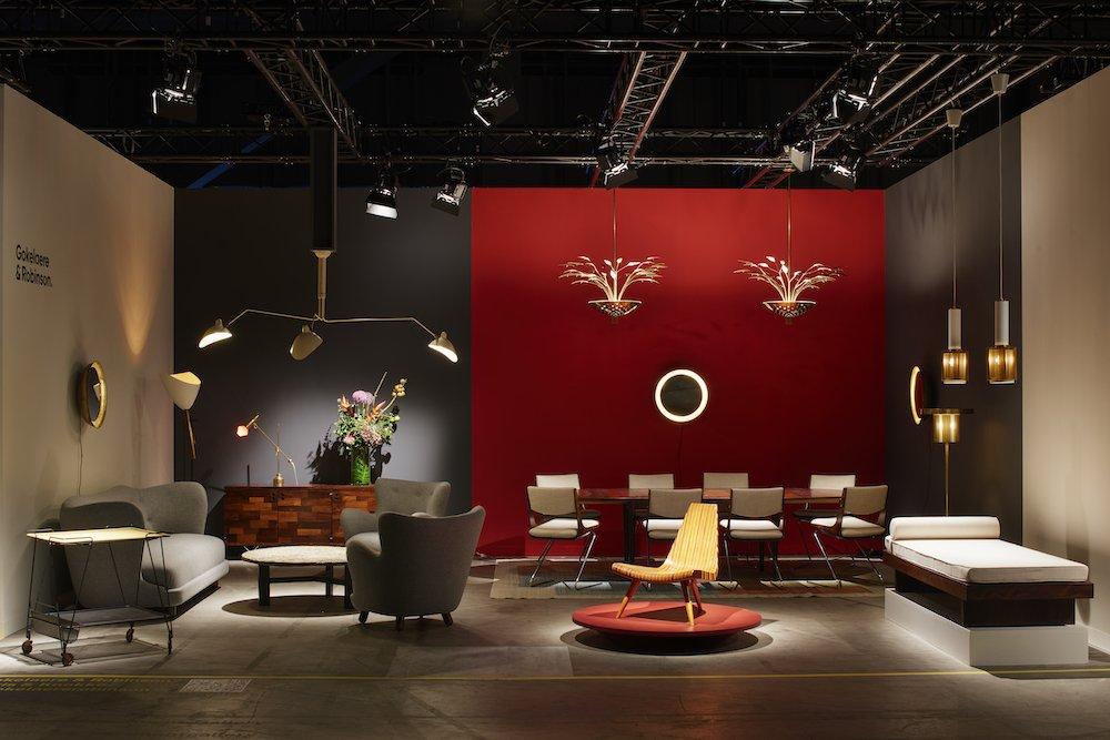 Gokelaere & Robinson at Design Miami Basel 2021 - Photo by James Harris.