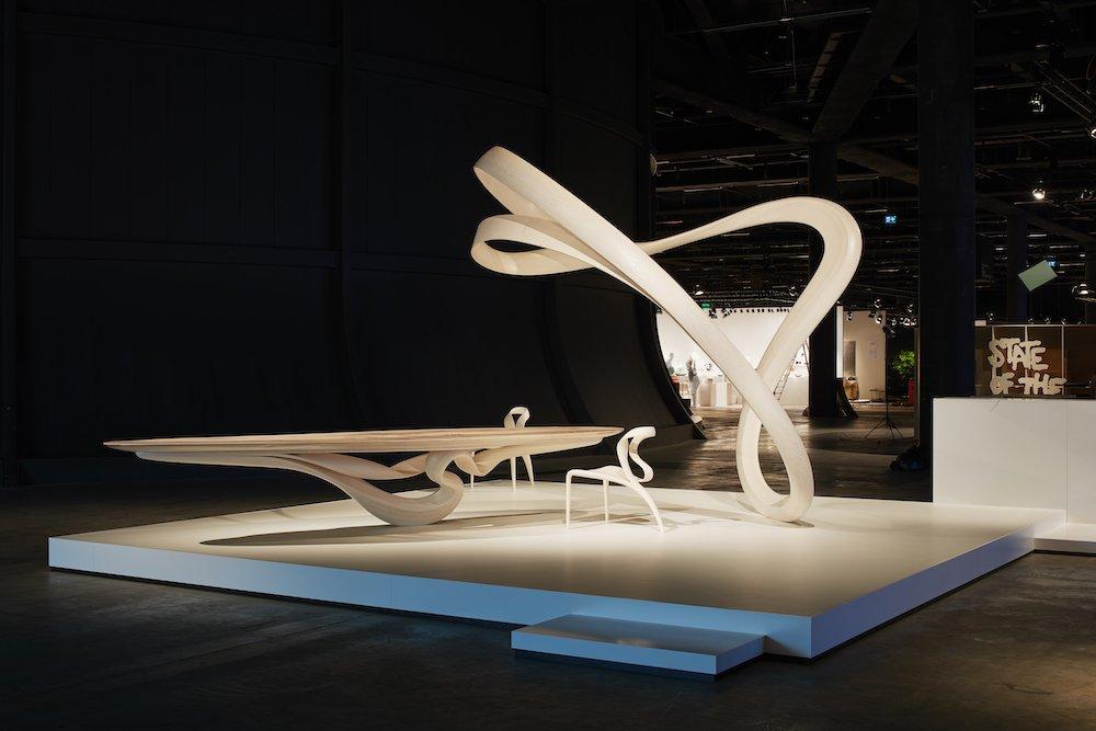 Joseph Walsh Studio @ Design Miami/ Basel 2021 - Photo by James Harris