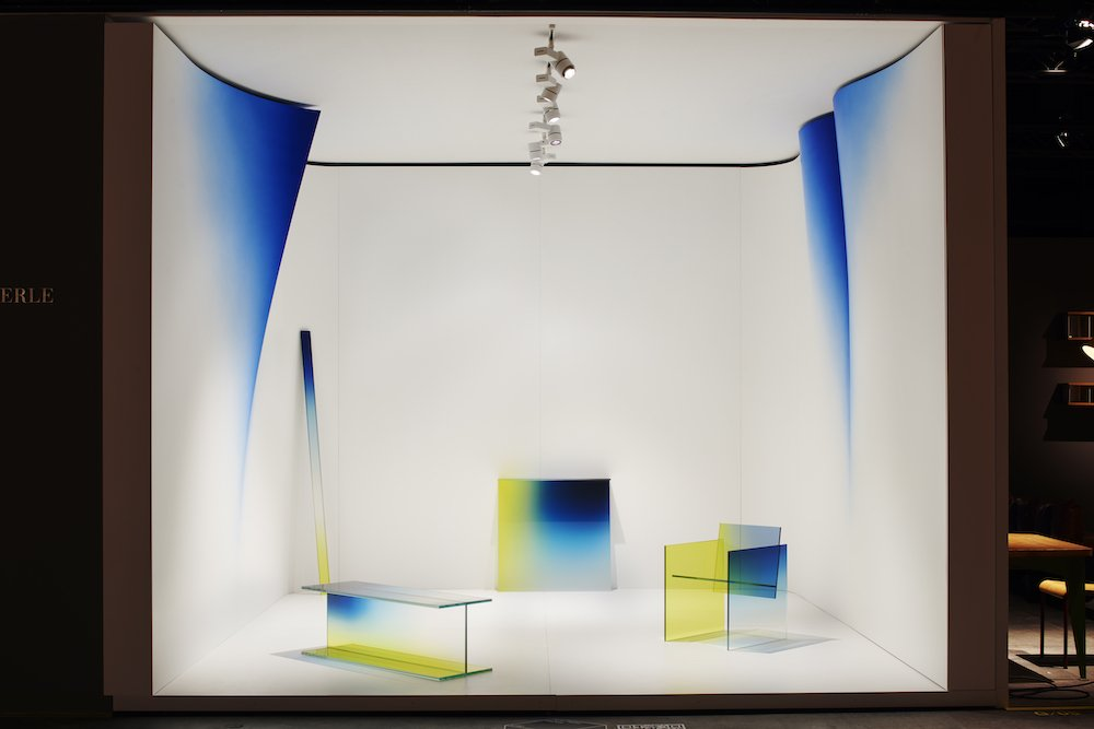 Peter Blake Gallery at Design Miami/ Basel 2021 - Photo by James Harris.