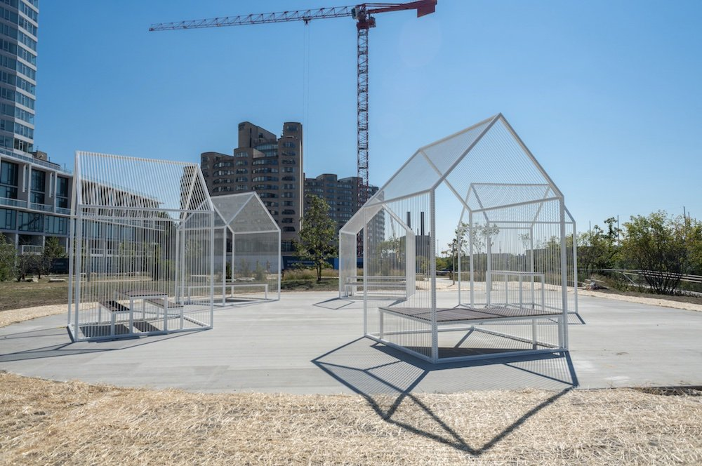 RIVER FRAME by PORT @ Chicago Architecture Biennial 2021 - Photo by Nathan Keay.