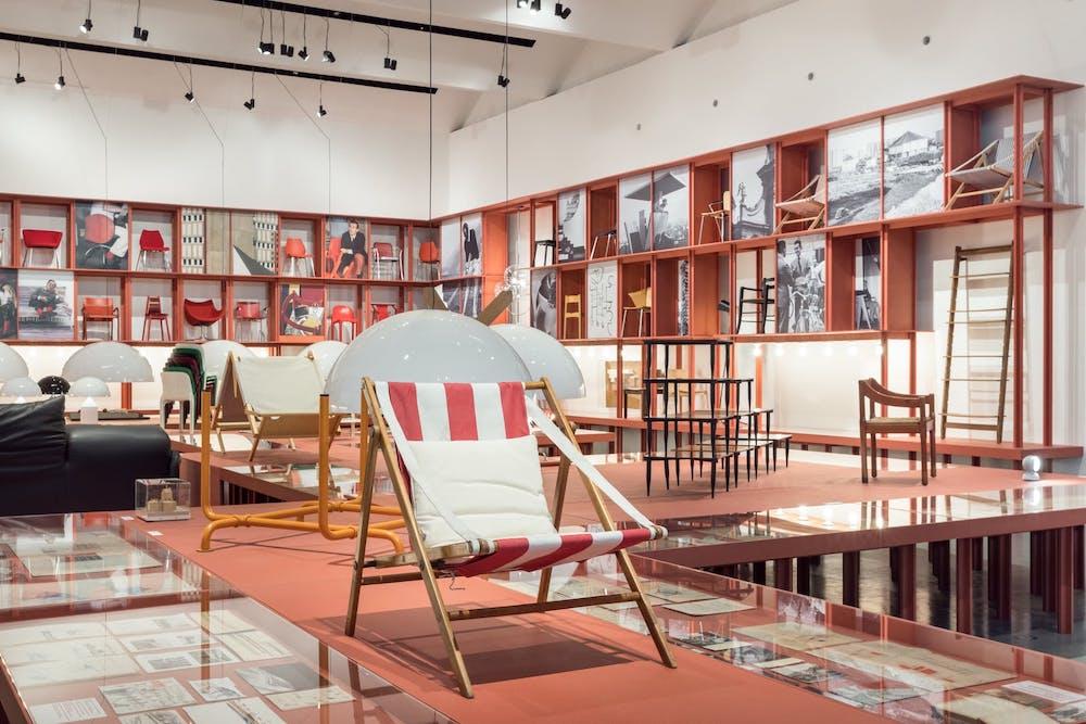 Vico Magistretti, Milanese Architect - Photo by Gianluca Di Ioia, courtesy of La Triennale in Milan.
