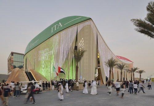 Italy Pavilion in Dubai