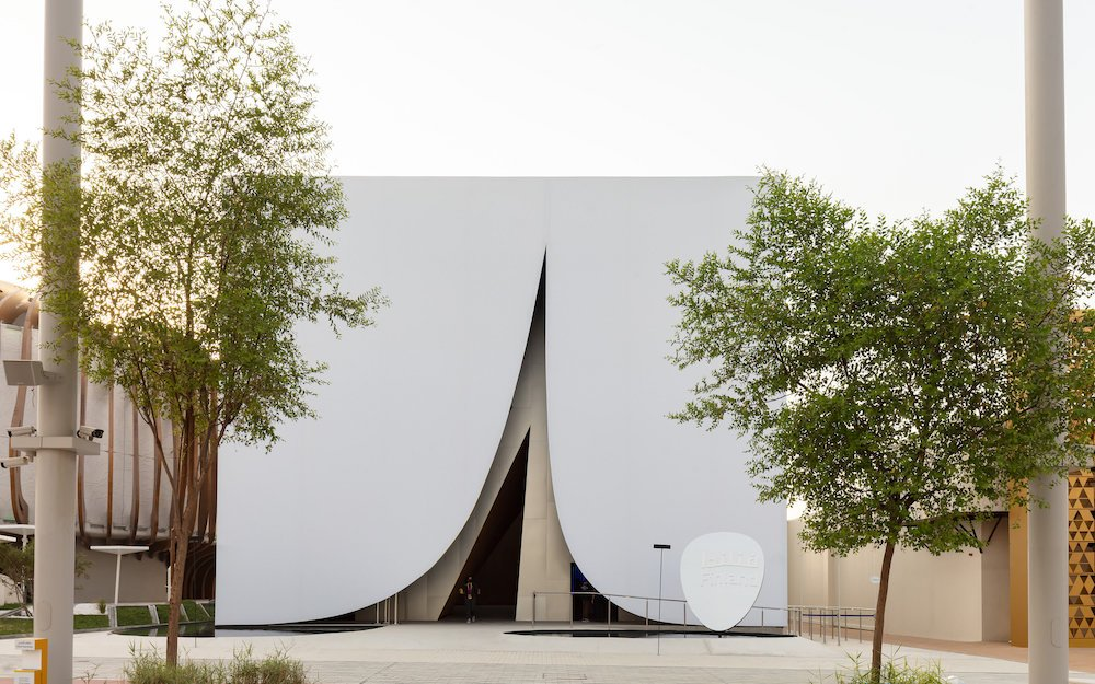 JKMM Architects' Finland Pavilion @ Expo 2020 Dubai - © Marc Goodwin.