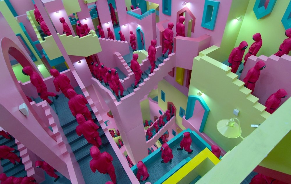 Squid Game architecture.