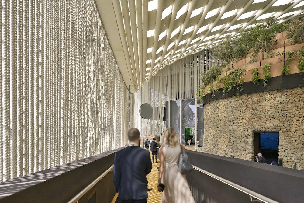Italy Pavilion @ Expo Dubai 2020 - Photo by Michele Nastasi, courtesy of CRA - Carlo Ratti Associati.