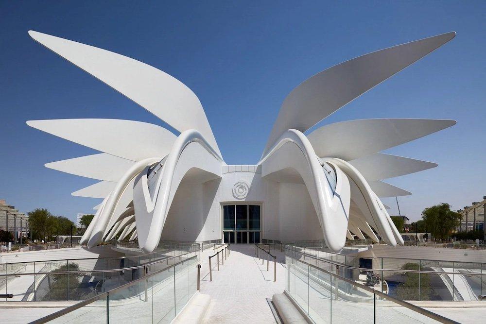 United Arab Emirates Pavilion by Santiago Calatrava @ Expo 2020 Dubai - Courtesy of Santiago Calatrava.