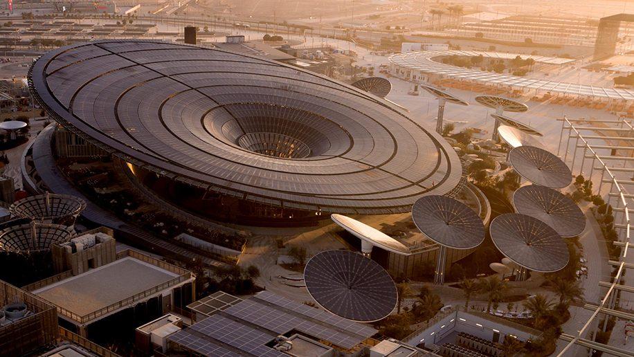 TERRA - SUSTAINABILITY PAVILION by Grimshaw Architects @ Expo 2020 Dubai - Courtesy of Grimshaw Architects.
